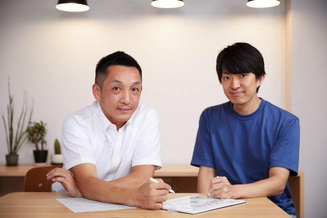 左:TSテック商品開発部 郭裕之氏 右:一般社団法人世界ゆるスポーツ協会代表 澤田智洋氏